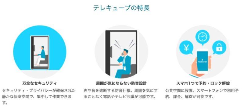 テレキューブ_特徴